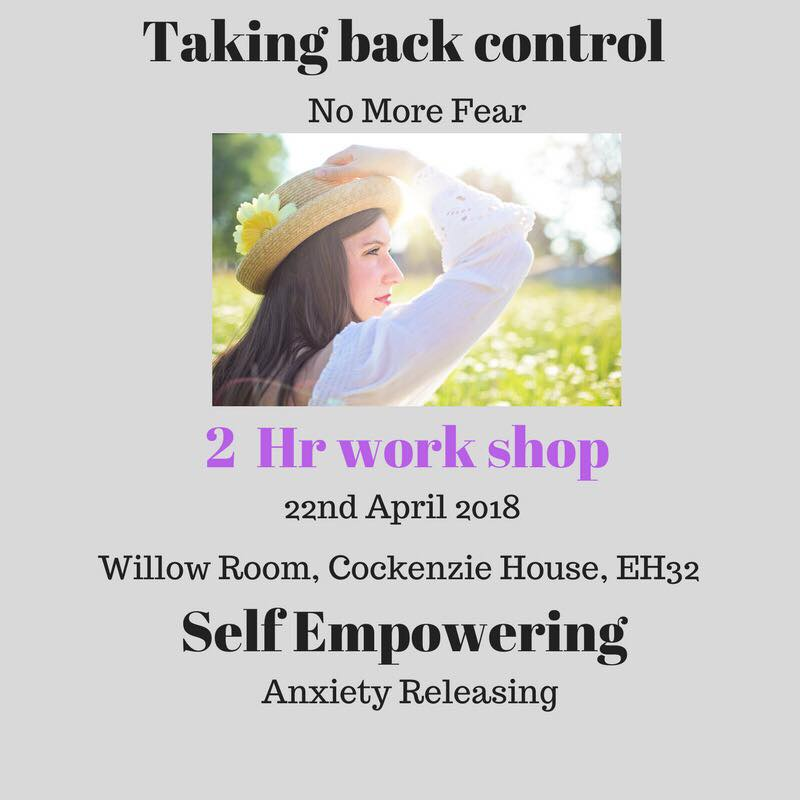 hypnotherapy - no more fear workshop