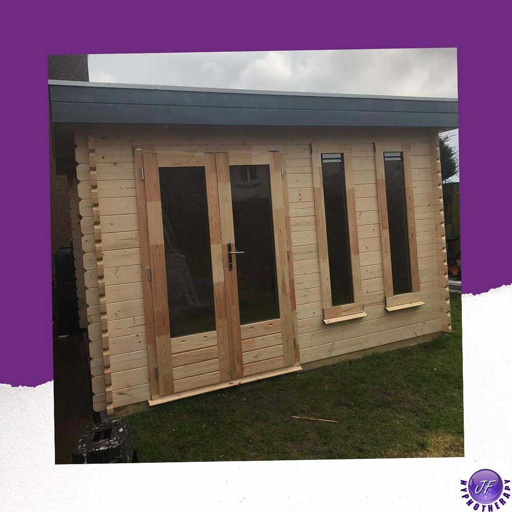 treatment room for hypnotherpay in aberlady east lothian